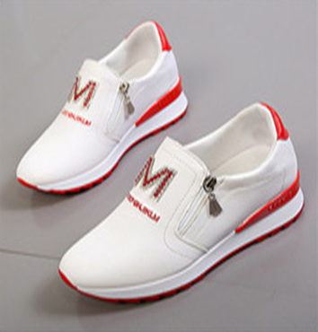 Women'S Shoes With Inner Heightening And Brick Inlaid Casual Shoes