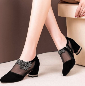 Women'S Crystal Sandals Transparent Sandals Big Size Popular Sandals Shoes