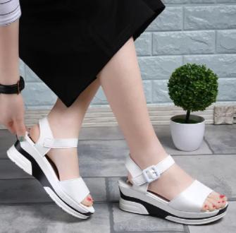 Women'S Popular Transparent Big Size Crystal Sandals Shoes